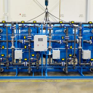 Marlo Quadraplex Industrial Water Softener Skid 02