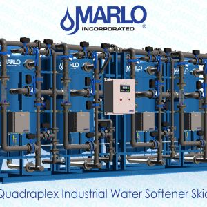 Marlo Quadraplex Industrial Water Softener Skid 05