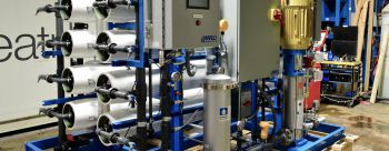 Two-Train Reverse Osmosis Skids